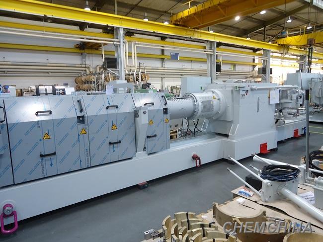 天华院10万吨/年聚碳酸酯挤压造粒系统成功投产